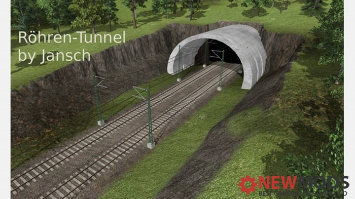 Photo of Transport Fever – Roehren-Tunnel