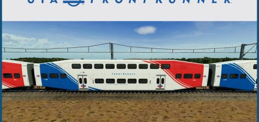 UTA – FrontRunner Bi-Level Coach