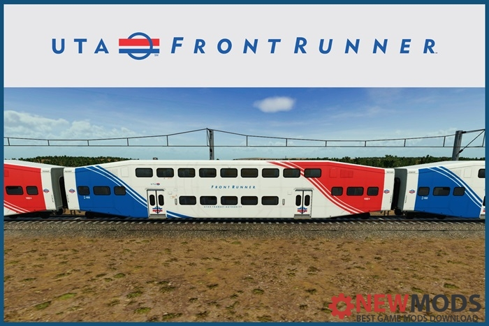 Photo of Transport Fever – UTA – FrontRunner Bi-Level Coach