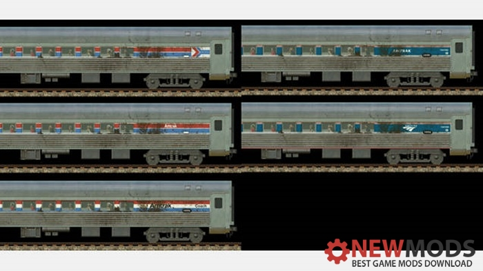 "Photo of Transport Fever – Amtrak ""Golden Sands"" Coaches Phase I-IVb"