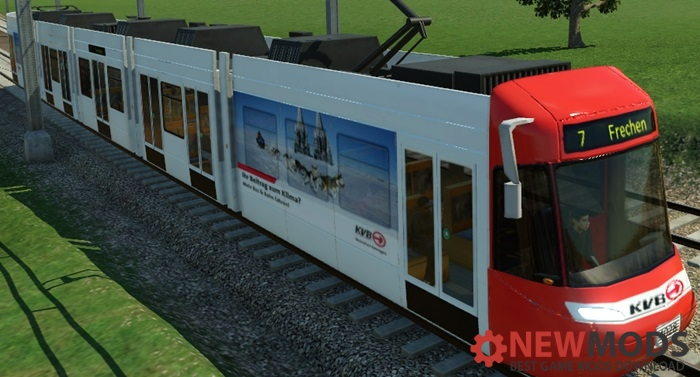 Photo of Transport Fever – Be 5/6 Cobra KVB Repaint (Tram- und Stadtbahnversion)