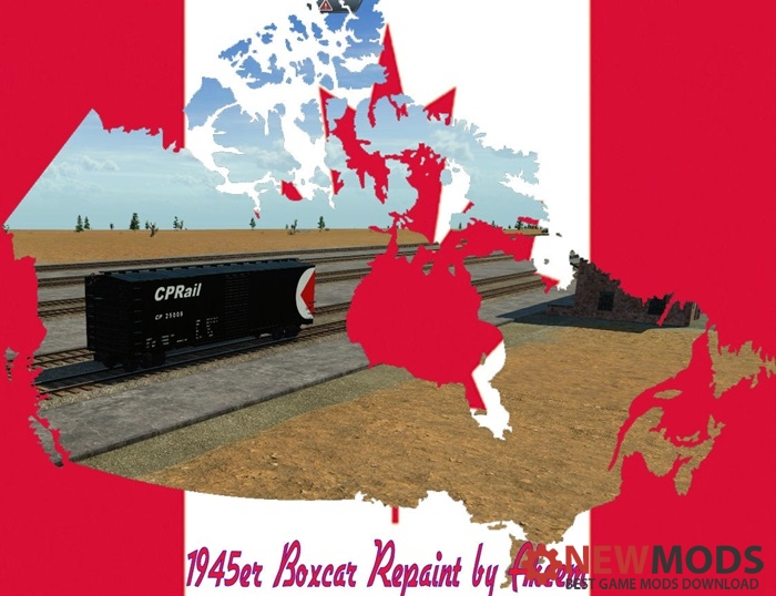 Photo of Transport Fever – Boxcar 1945 – CP Rail 04