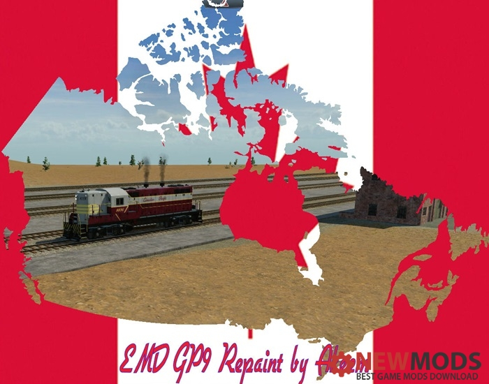 Photo of Transport Fever – EMD GP9 – Canadian Pacific + Double Traction