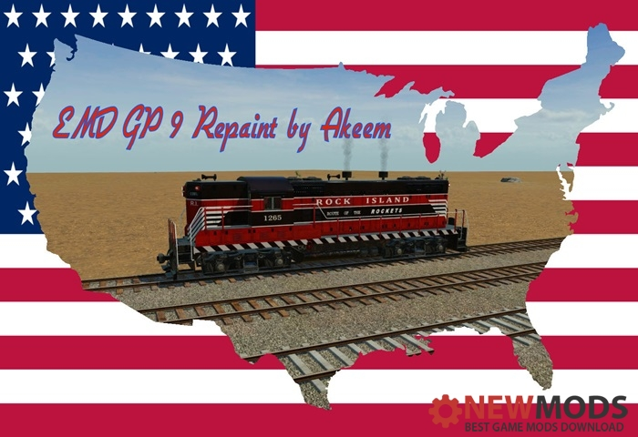 Photo of Transport Fever – EMD GP9 – Rock Island + Double Traction