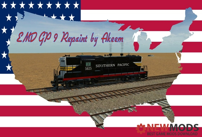 Photo of Transport Fever – EMD GP9 – Southern Pacific + Double Traction