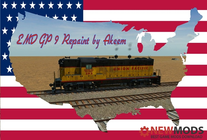 Photo of Transport Fever – EMD GP9 – Union Pacific + Double Traction