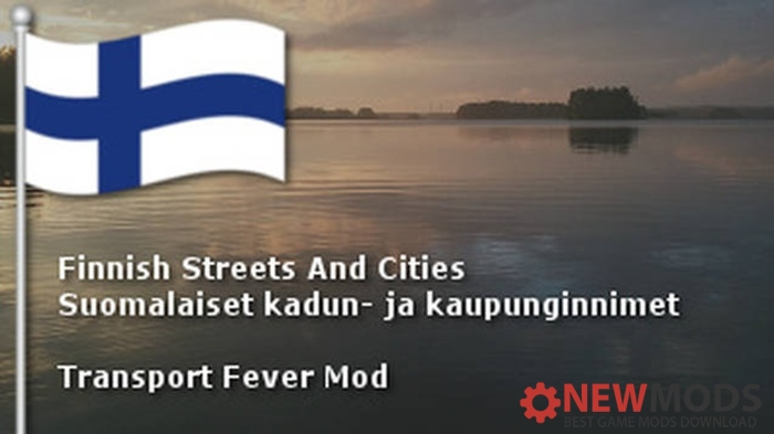 Photo of Transport Fever – Finnish Town, Street, Person Names