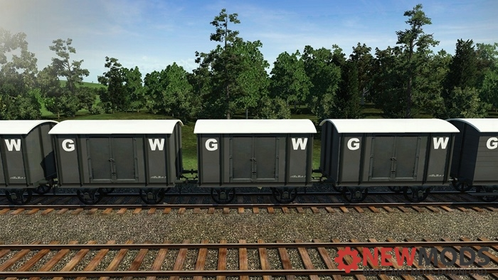 Photo of Transport Fever – GWR Waggon V6