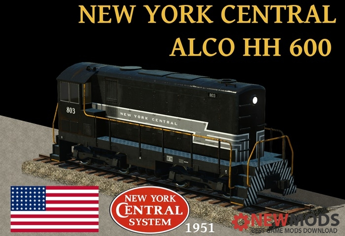 Photo of Transport Fever – New York Central – Alco HH 600