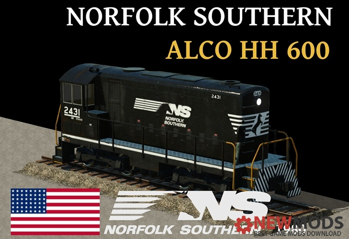 Photo of Transport Fever – Norfolk Southern – Alco HH 600