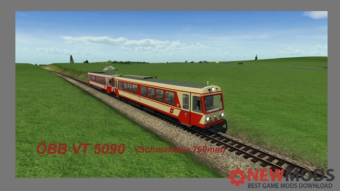 Photo of Transport Fever – OBB 5090 (Narrow Gauge, 760MM)
