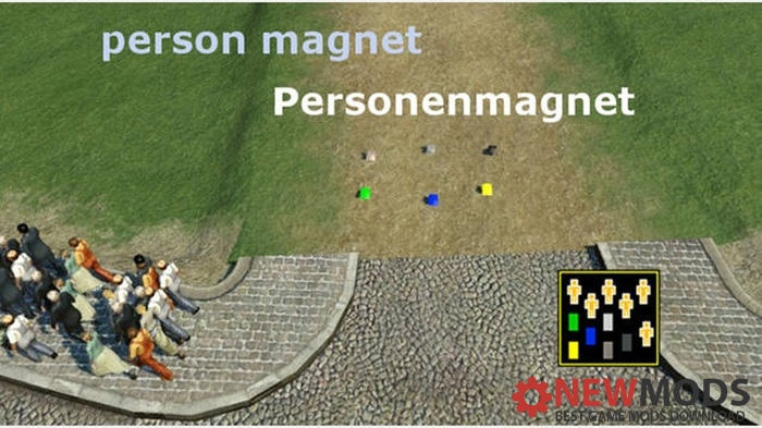 Photo of Transport Fever – Person Magnet : Personenmagnet