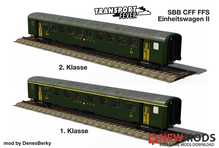 Photo of Transport Fever – SBB Einheitswagen II