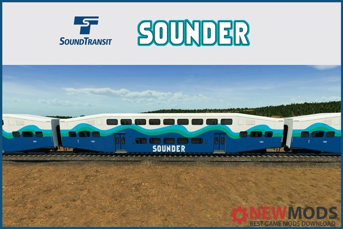 Photo of Transport Fever – Seattle Commuter Rail – Sounder Bi-Level Coach