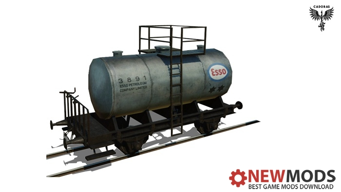 Photo of Transport Fever – Tank Wagon Repaint #3 – Esso