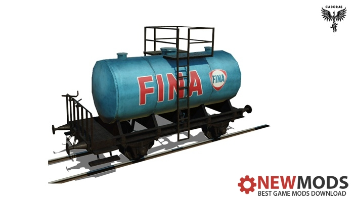 Photo of Transport Fever – Tank Wagon Repaint #2 – FINA