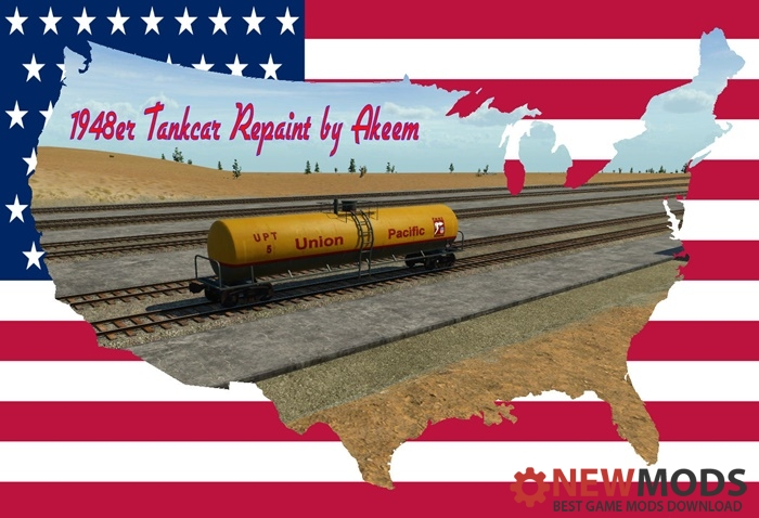 Photo of Transport Fever – Tankcar 1948 – Union Pacific 01