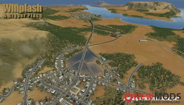 Photo of Transport Fever – Whiplash – A Bigger Place Map