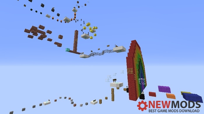 Photo of Minecraft – Freestyle Parkour 2 Map