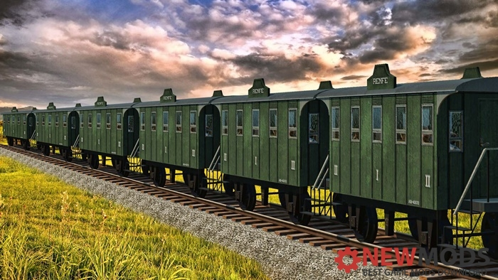Photo of Transport Fever – Renfe Wagons Old