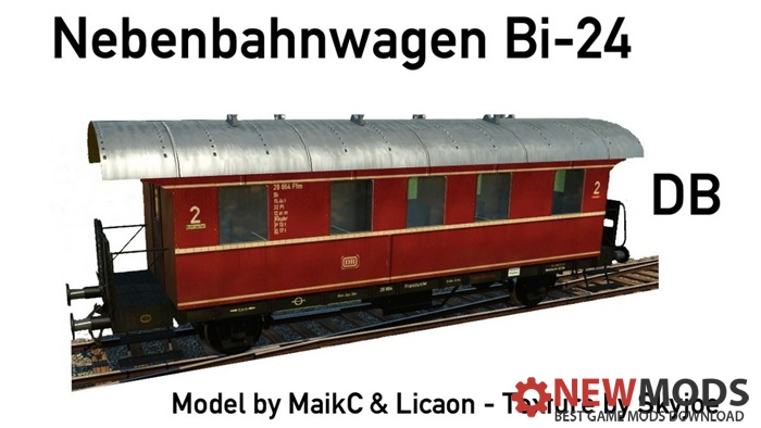 Photo of Transport Fever – Secondary Line Coach Biel-24 DRG Green/Beige and DB)