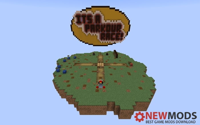 Photo of Minecraft – ITS Parkour Race! Map