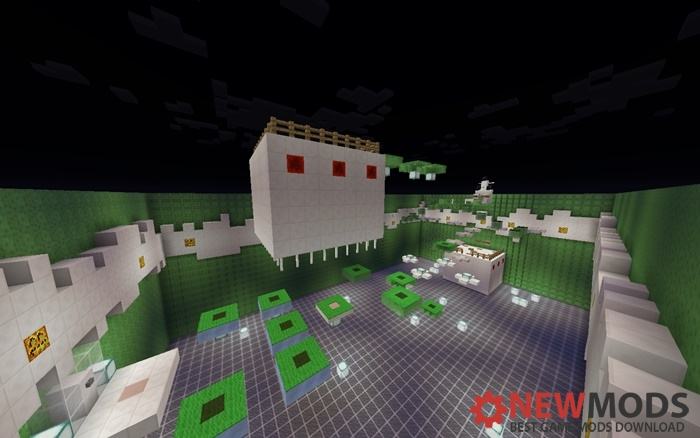 Photo of Minecraft – Slime Parkour Map
