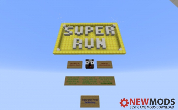 Photo of Minecraft – Super Run Parkour Map