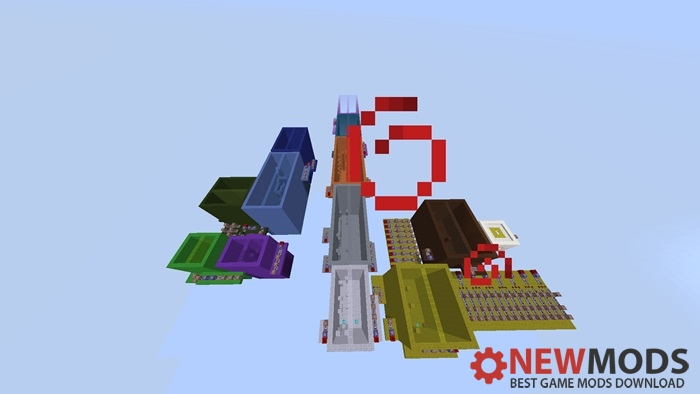 Photo of Minecraft – The Mirror Color Parkour Map