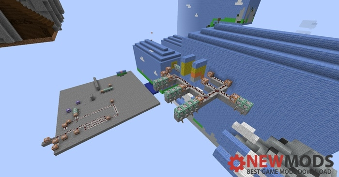 Photo of Minecraft – The Wooly Box World Parkour Map