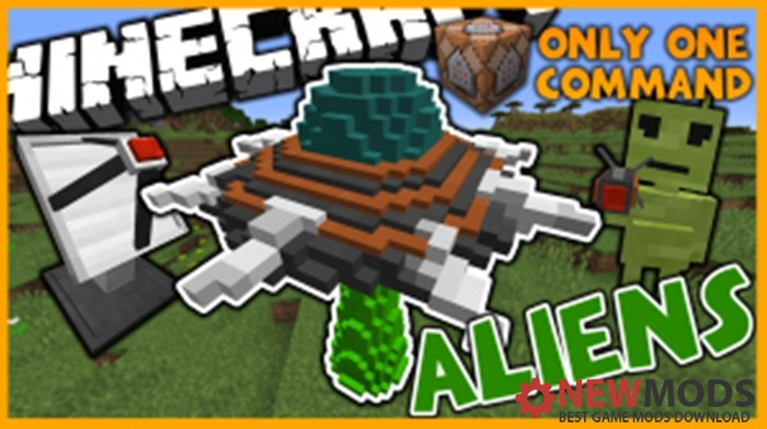 Photo of Minecraft – Aliens Custom Commands Map