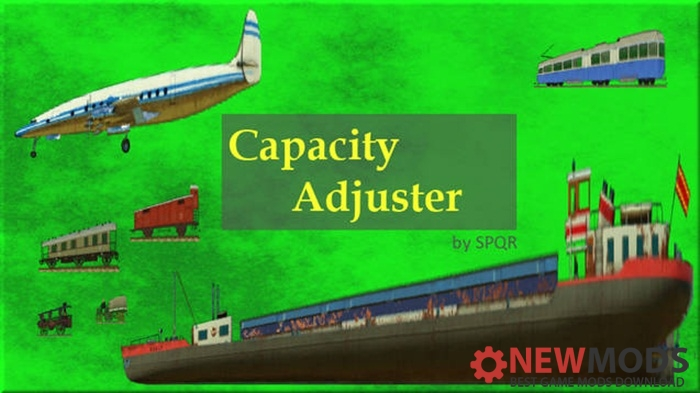 Photo of Transport Fever – Capacity Adjuster