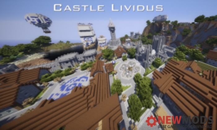 Photo of Minecraft – Castle Lividus Of Aeritus Map