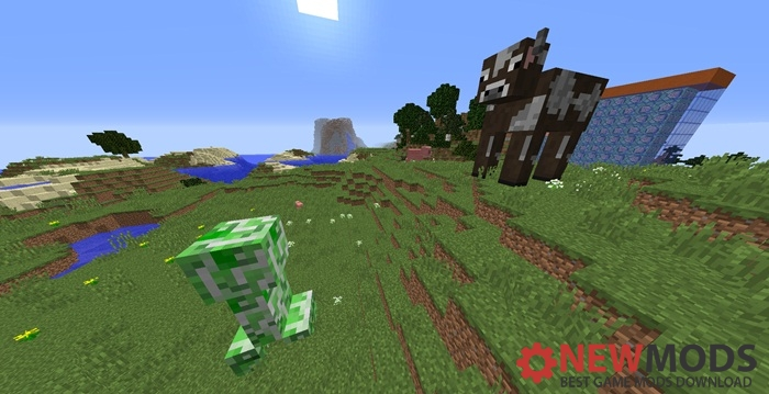 Photo of Minecraft – Giant Mobs Custom Commands Map