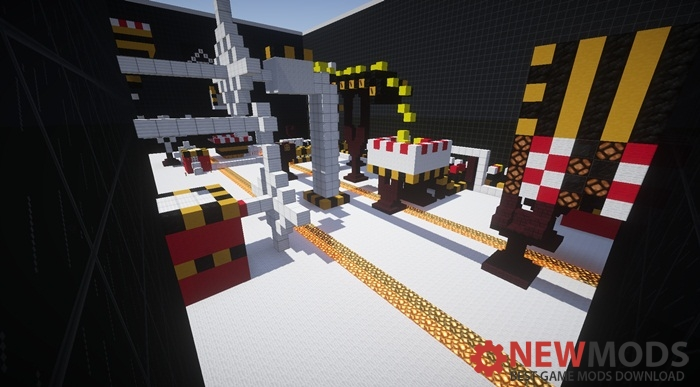 Photo of Minecraft – Glassy Paintball PVP Map