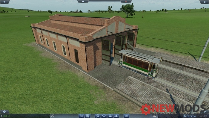 Photo of Transport Fever – Sparky's Depot & Station Mod