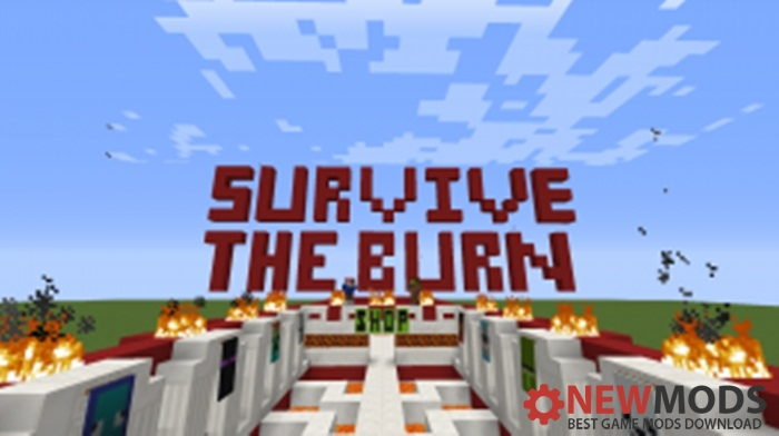 Photo of Minecraft – Survive The Burn Game Map