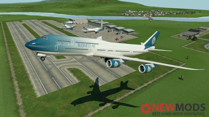 Photo of Transport Fever – Boeing 747-8 Business Air Livery