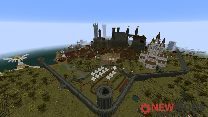 Photo of Minecraft – Saldur City Map