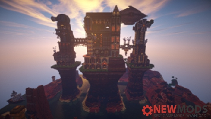 Photo of Minecraft – Steampunk Castle Map
