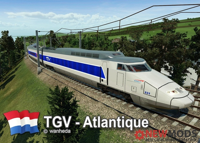Photo of Transport Fever – TGV – Atlantique