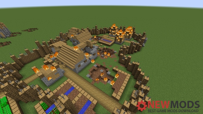 Photo of Minecraft – Find The Button: Sword And Sorcery Puzzle Map