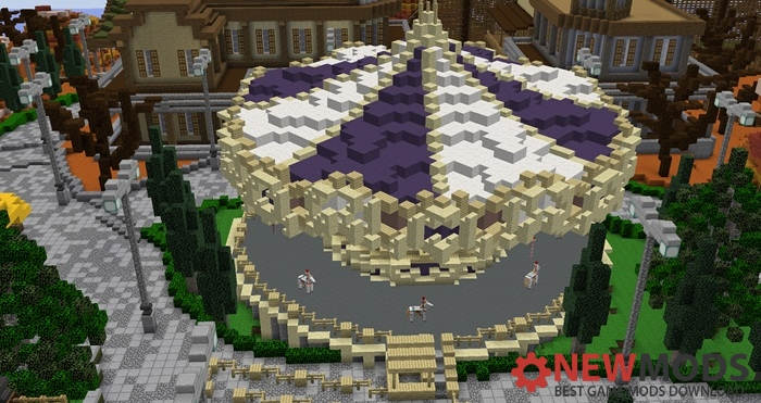 Photo of Minecraft – Herofair Amusement Park Creation Map