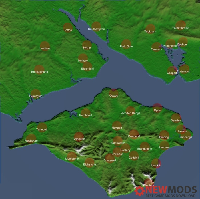 Photo of Transport Fever – Isle of Wight 4k No Industry Map