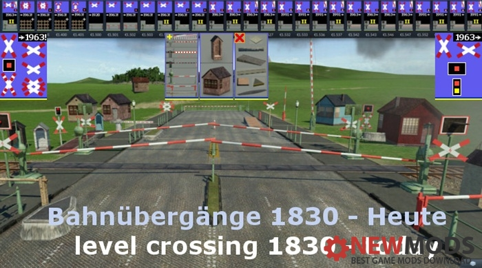 Photo of Transport Fever – Level Crossing 1830-Today / Bahnübergänge 1830-Heute