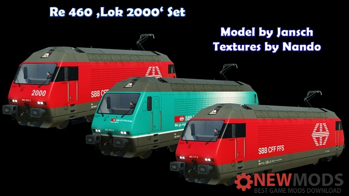 Photo of Transport Fever – Re 460 Lok 2000 Set