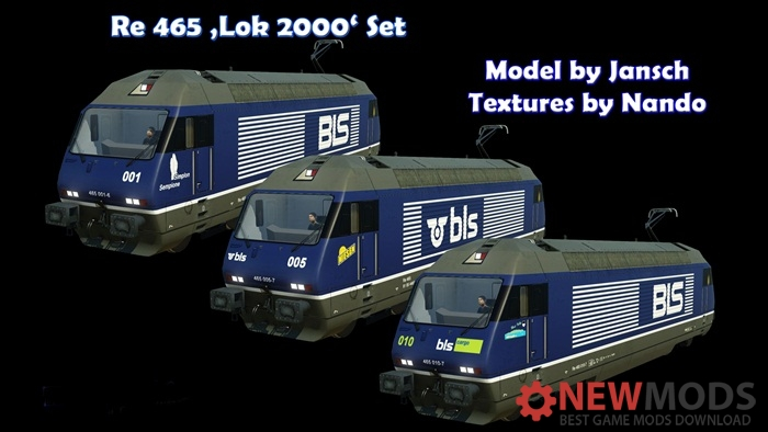Photo of Transport Fever – Re 465 Lok 2000 Set