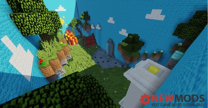 Photo of Minecraft – The Biome Parkour! Map
