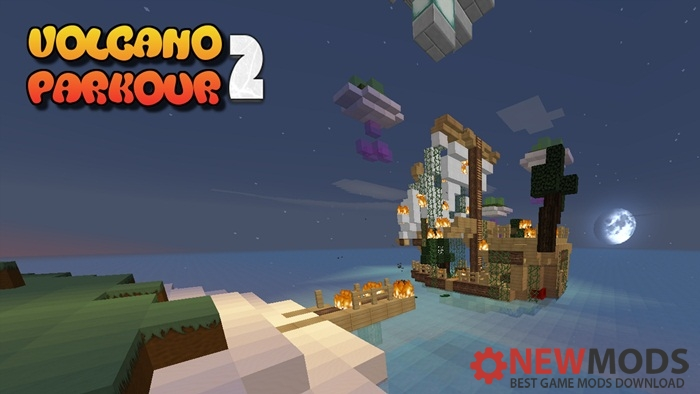 Photo of Minecraft – Volcano Parkour 2 Map