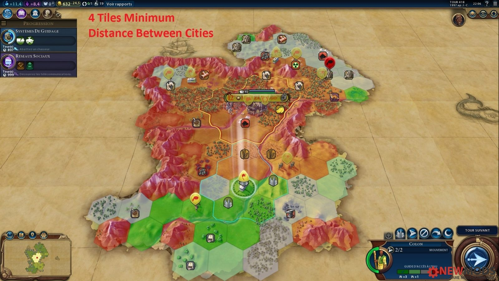 Photo of Civ 6- City Range Up